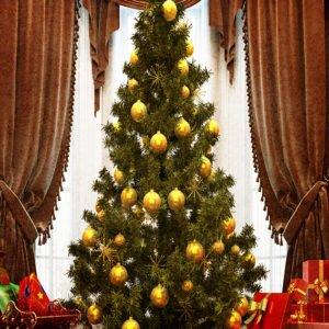 christmas tree backdrops photo
