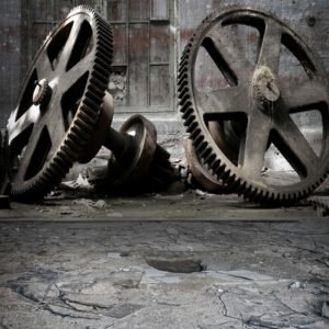 giant cogs backdrops photo