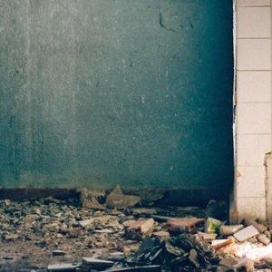 derelict bathroom backdrops photo
