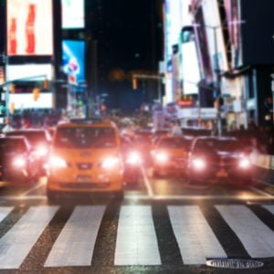 nyc rush hour backdrops photo