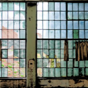 factory windows backdrops photo